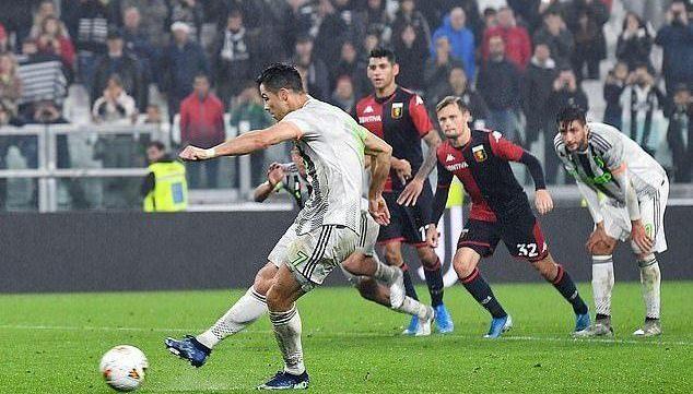 Juventus,Genoa,Ronaldo