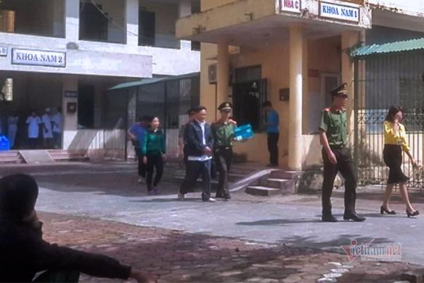 Bắt vợ Giám đốc BV Tâm thần Thanh Hóa cùng 2 trưởng khoa