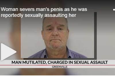 """Bị cưỡng hiếp, nạn nhân cắn đứt """"cậu nhỏ"""" của kẻ tấn công"""