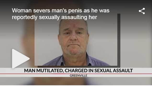 Bị cưỡng hiếp, nạn nhân cắn đứt 'cậu nhỏ' của kẻ tấn công