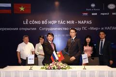 BIDV - ngân hàng đầu tiên chấp nhận thanh toán thẻ nội địa Liên bang Nga