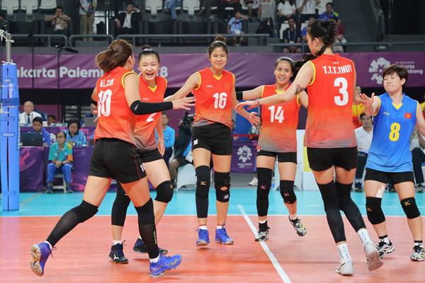 Lịch thi đấu bóng chuyền nữ SEA Games 30
