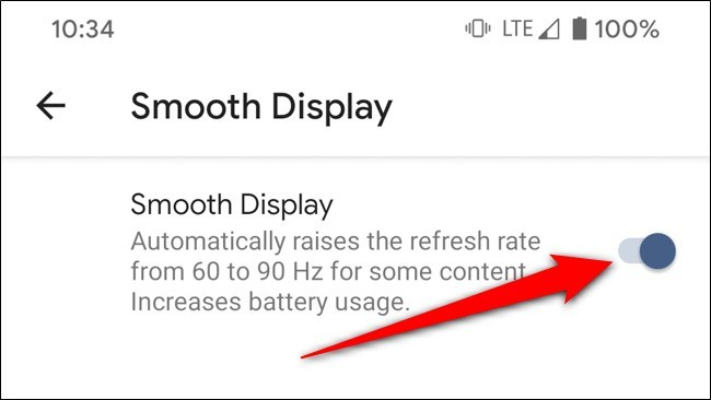 Cách vô hiệu màn hình 90 Hz trên Google Pixel 4 và Pixel 4 XL để tiết kiệm pin