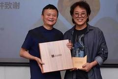 Ngoại hình khác lạ của Lý Liên Kiệt khi xuất hiện bên tỷ phú Jack Ma