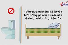 Phong thủy phòng ngủ: Kiêng những điều này, tổ ấm luôn yên vui