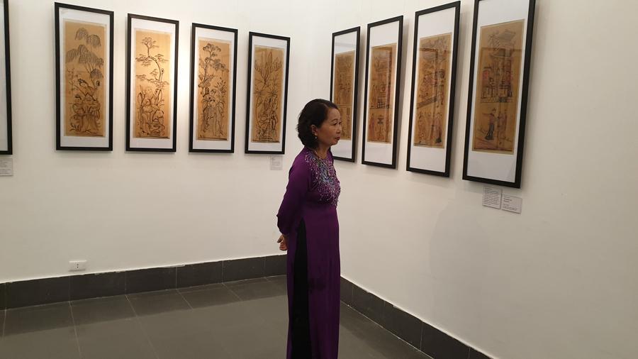 Tranh Đông Hồ,triển lãm