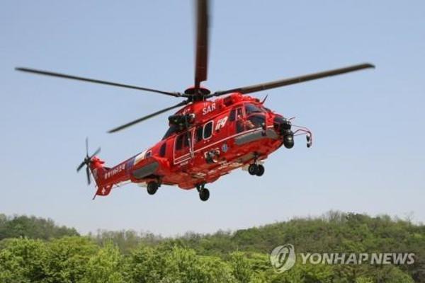 Trực thăng Hàn Quốc rơi gần đảo tranh chấp với Nhật Bản