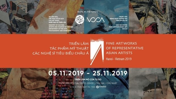 Outstanding Asian artists to display works in Hanoi