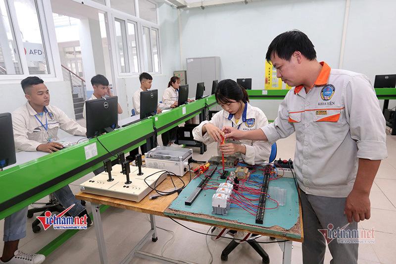 Trường CĐ đào tạo chương trình của Nhật Bản, Đức