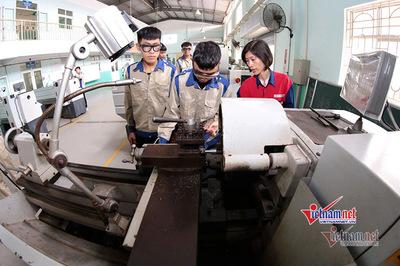 Lao động trẻ chưa nhận thức học nghề là nhu cầu
