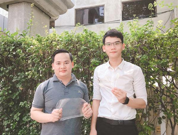 HCM City students,biodegradable products,reduce the use of single-use plastic items,social news,vietnamnet bridge,english news,Vietnam news,vietnamnet news,Vietnam latest news,Vietnam breaking news,Vietnamese newspaper,news vietnam