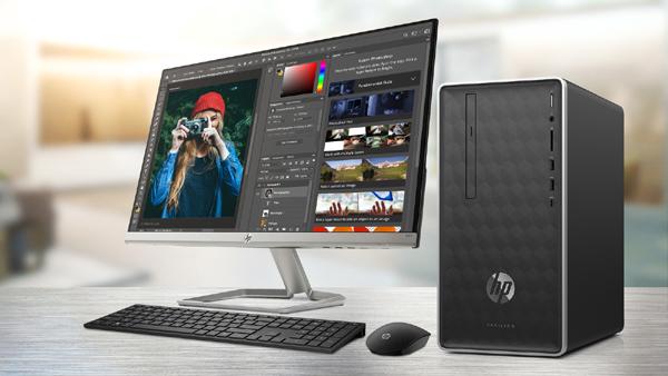 Bộ đôi màn hình, máy tính HP giá mềm cho dân thiết kế đồ họa