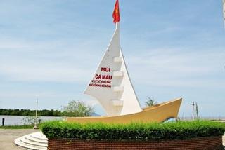 Di dời biểu tượng con tàu Mũi Cà Mau đến điểm chống sạt lở