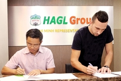 Hoang Anh Gia Lai ink two-year deal with Serbian defender Memovic