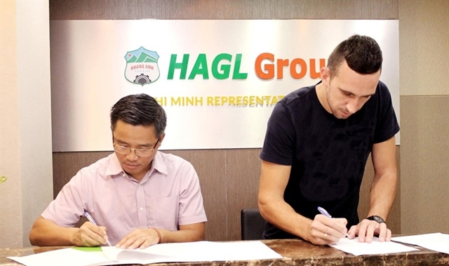 hoang anh gia lai,Serbian defender Memovic,Sports news,Vietnam sports