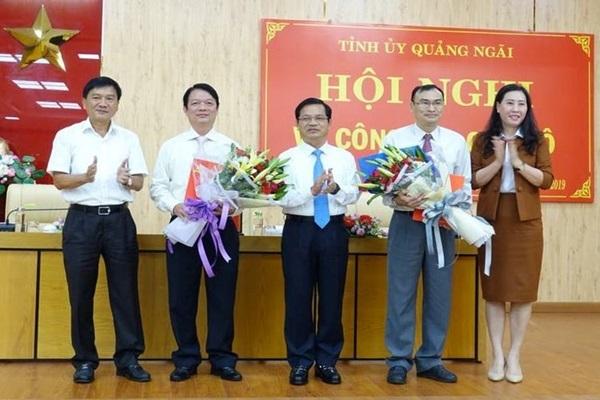 Quảng Ngãi có tân Trưởng ban tổ chức Tỉnh ủy