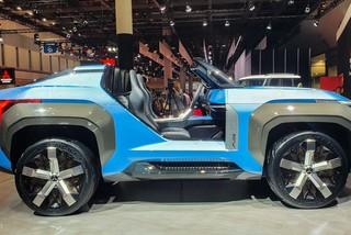 Mitsubishi Mi-Tech Concept - SUV mui trần không có cửa