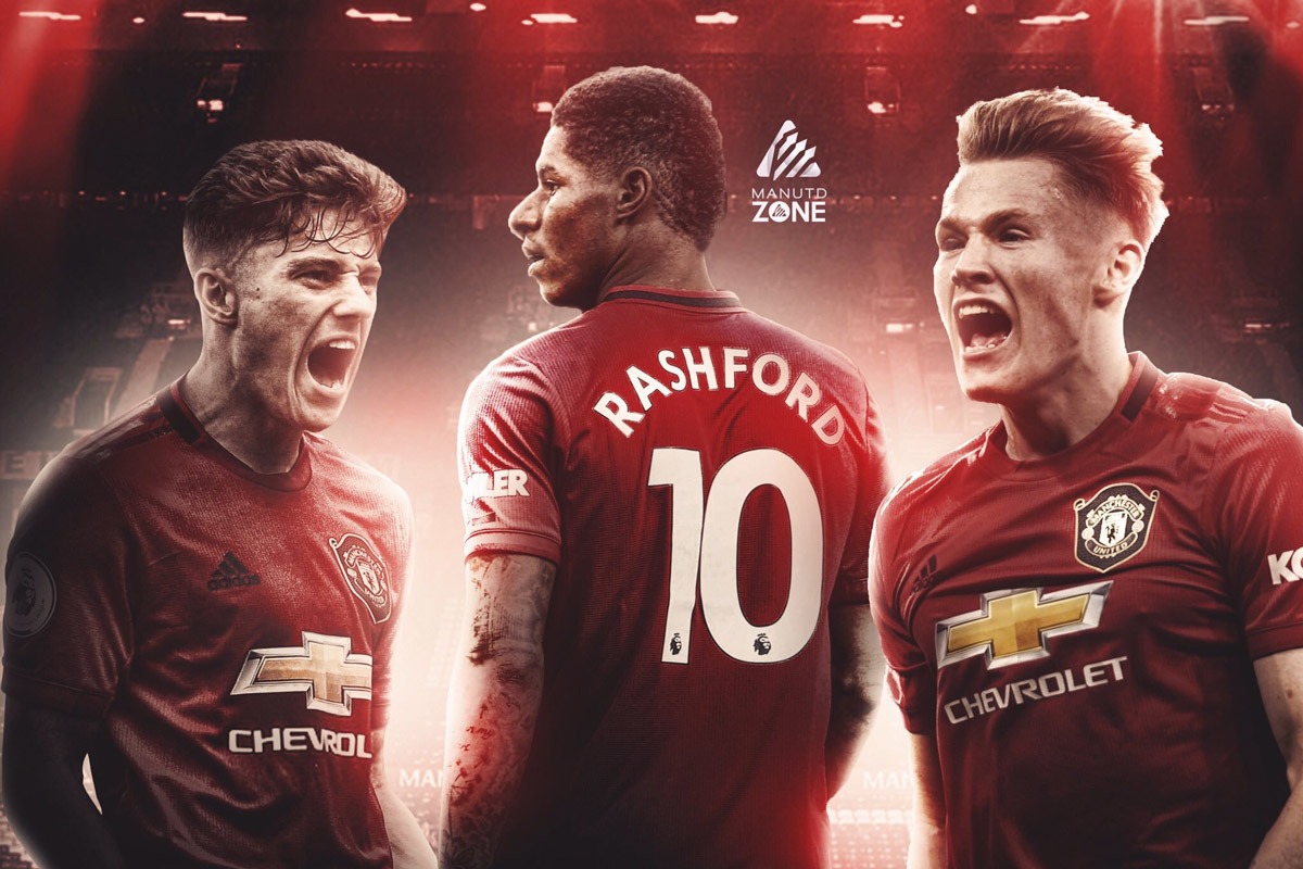 MU,Bournemouth vs MU,Solskjaer,Marcus Rashford,Daniel James,McTominay