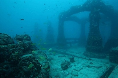 Thành phố người chết dưới lòng đại dương ở Mỹ