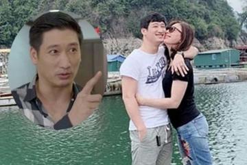 Khác hẳn Thái trong 'Hoa hồng trên ngực trái', ngoài đời Ngọc Quỳnh lại ngọt ngào với vợ thế này