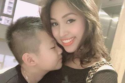 Vân Hugo bất ngờ khi con trai 10 tuổi nói 'muốn lấy vợ như mẹ'