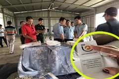 Chăn màn Trung Quốc hàng ngàn chiếc nghi giả xuất xứ Việt Nam