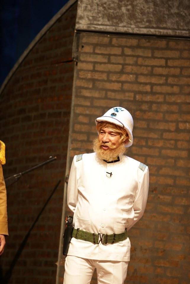 Công Lý, Quang Thắng diễn ở sân khấu quay hiện đại nhất VN