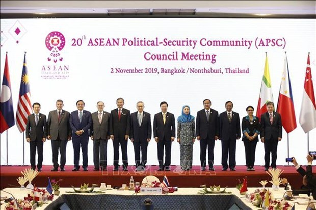 Deputy Prime Minister and Foreign Minister Pham Bi,20th ASEAN Political-Security Community Council Me,24th ASEAN Coordinating Council Meeting