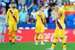 Messi ghi bàn, Barca vẫn thua ngược đầy cay đắng