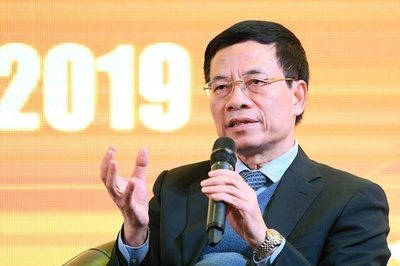 Bộ trưởng Nguyễn Mạnh Hùng: Doanh nghiệp VN cần làm chủ các công nghệ nền tảng trong Chính phủ điện tử