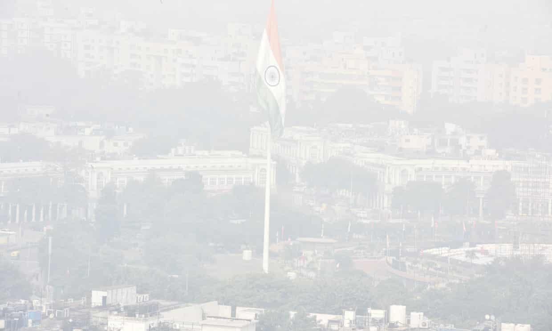 Ấn Độ,thủ đô,Delhi,ô nhiễm,không khí,khẩu trang,khủng hoảng
