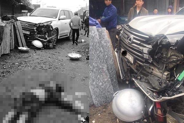 Lexus,xe sang,siêu xe,tai nạn giao thông