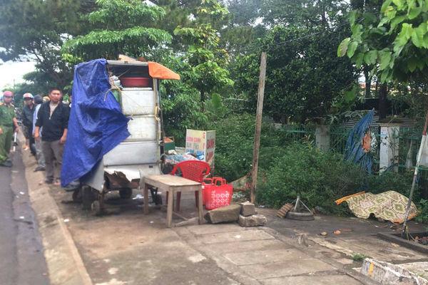 Người phụ nữ chết cháy cạnh tủ bán bánh mì ở Gia Lai