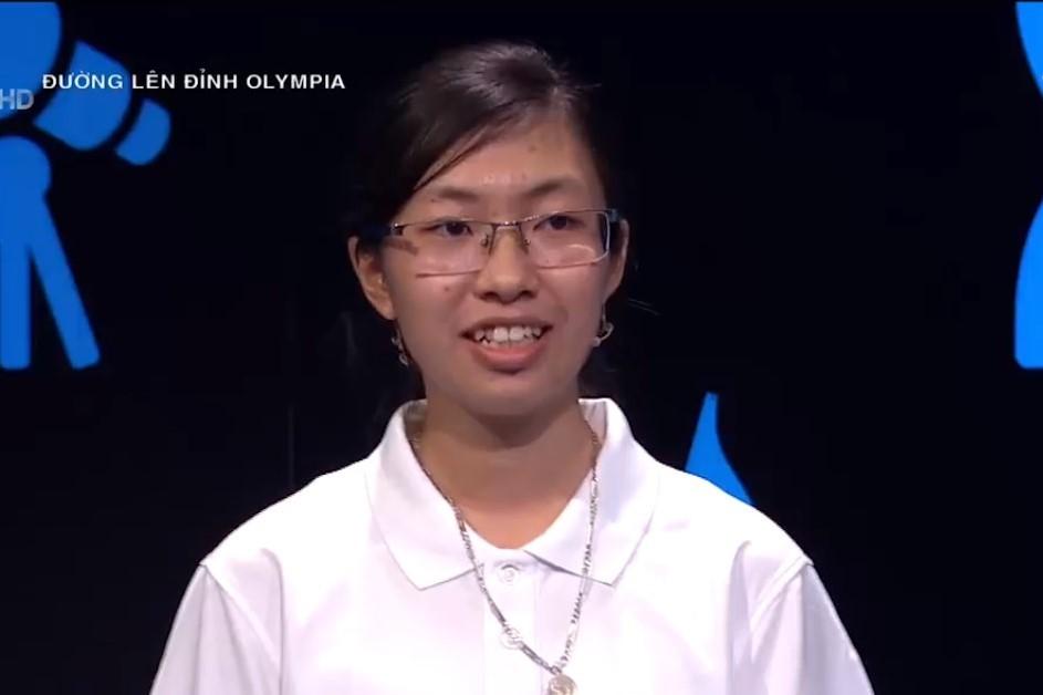 Thí sinh nữ đạt điểm cao nhất lịch sử Đường lên đỉnh Olympia
