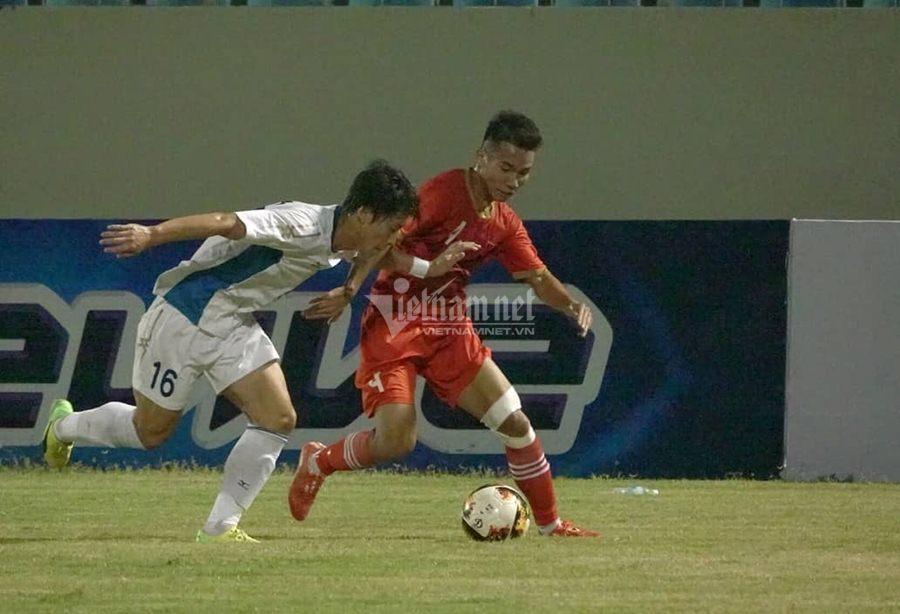 U21 Việt Nam,U21 SV Nhật Bản