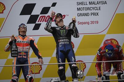 Maverick Vinales về nhất tại giải đua motoGP Sepang