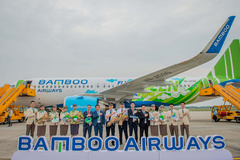 Bamboo Airways nhận chiếc máy bay Airbus A320neo đầu tiên