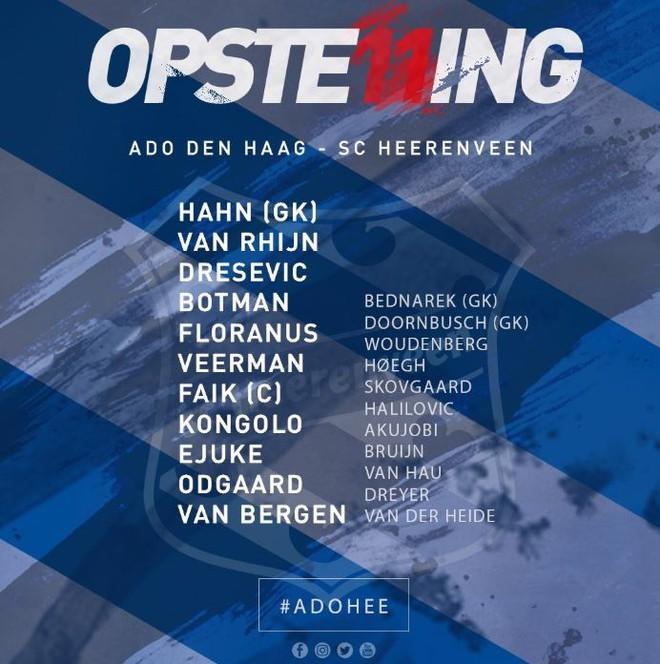 '. Kết quả Heerenveen 1 .'