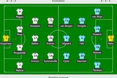 Văn Hậu dự bị, Heerenveen bất bại 6 trận ở giải Hà Lan