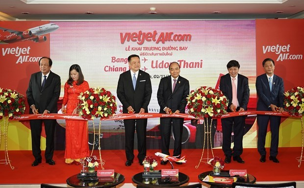 New air routes launched between Vietnam, Thailand
