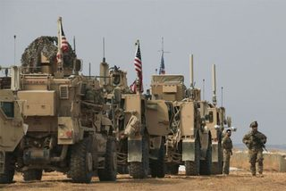 Lính Mỹ bị tấn công trên đường rút khỏi Syria