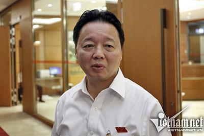 Bộ trưởng Trần Hồng Hà: Ông nào không nên ngồi thì nhường người khác vào