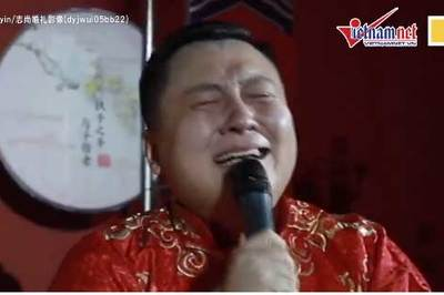 Xem chú rể khóc nức nởvì lấy được vợ sau một đời chỉ làm phù rể