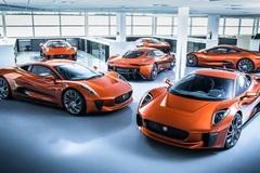 Siêu xe Jaguar C-X75 trong phim James Bond giá 1,2 triệu USD