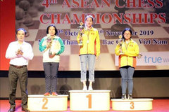 Vietnam dominate ASEAN Chess Championships