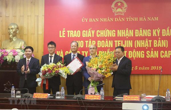 Hà Nam, tâm điểm mới thu hút FDI