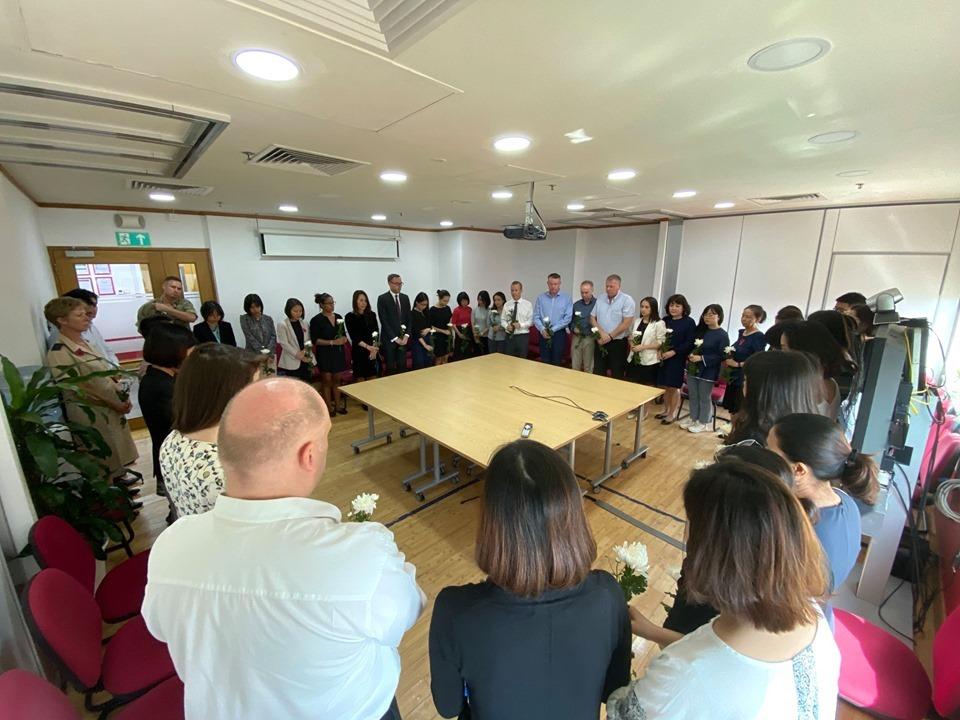 Đại sứ quán Anh tại Việt Nam tưởng nhớ 39 nạn nhân tại Essex