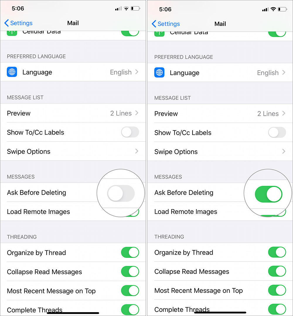 iOS 13,Mail,Apple,iPhone,thủ thuật iPhone