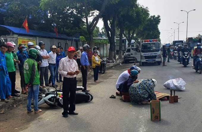 Hai chị em bị xe bồn cuốn vào gầm, 1 người tử vong ở Đà Nẵng