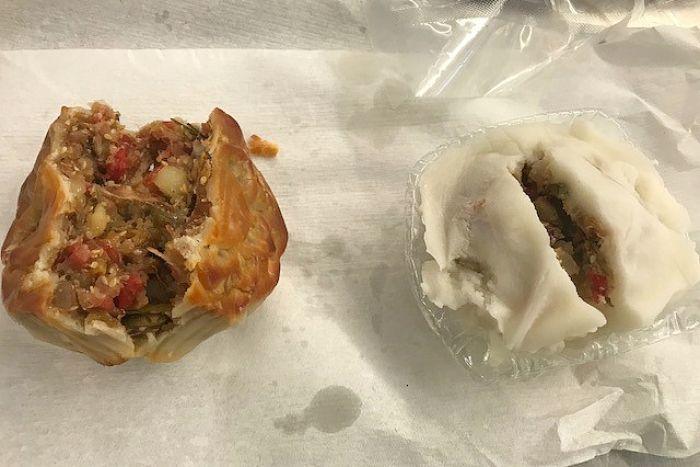 Kết quả hình ảnh cho Hành khách người Việt này mang 4kg bánh trung thu có nhân là những nguyên liệu làm từ thịt heo